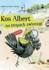Okładka książki Kos Albert na tropach zwierząt Katarzyna Kopiec-Sekieta