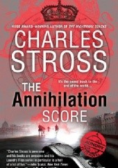 Okładka książki The Annihilation Score Charles Stross