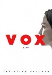 Okładka książki Vox Christina Dalcher