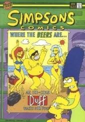 Okładka książki Simpsons Comics #14 - To Heir Is Homer Matt Abram Groening,Bill Morrison
