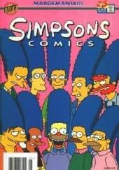 Okładka książki Simpsons Comics #25 - Marge Attacks! Matt Abram Groening,Bill Morrison