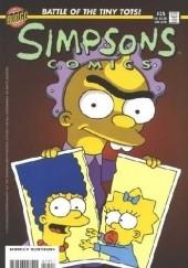 Okładka książki Simpsons Comics #35 - To Live and Diaper in Springfield Matt Abram Groening,Bill Morrison