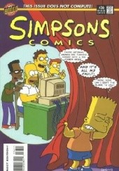 Okładka książki Simpsons Comics #36 - The Geek Shall Inherit the Earth Matt Abram Groening,Bill Morrison,Ian Boothby