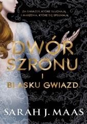Okładka książki Dwór szronu i blasku gwiazd Sarah J. Maas