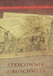 Okładka książki Szkicownik z Auschwitz Agnieszka Sieradzka