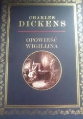 Okładka książki Opowieść wigilijna Charles Dickens