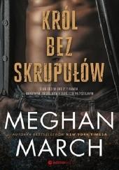 Okładka książki Król bez skrupułów Meghan March