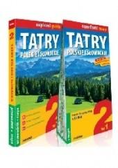 Okładka książki Explore! Guide. Tatry polskie i słowackie. 2 w 1. Przewodnik i mapa. Tomasz Nodzyński,Marta Cobel-Tokarska