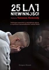 Okładka książki 25 lat niewinności Grzegorz Głuszak