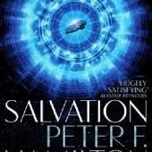 Okładka książki Salvation Peter F. Hamilton