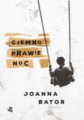 Okładka książki Ciemno, prawie noc Joanna Bator