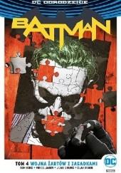 Okładka książki Batman: Wojna Żartów z Zagadkami Mikel Janin,Tom King,Clay Mann