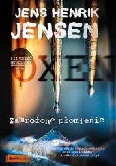 Okładka książki Zamrożone płomienie Jens Henrik Jensen
