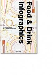Okładka książki Food & Drink Infographics. A Visual Guide to Culinary Pleasures Julius Wiedemann,Simone Klabin