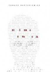 Okładka książki Siódma stacja Tomasz Bartosiewicz