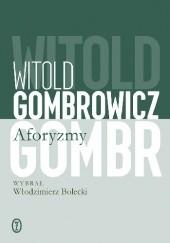 Okładka książki Aforyzmy Witold Gombrowicz