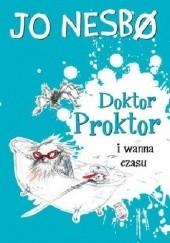 Okładka książki Doktor Proktor i wanna czasu Jo Nesbø