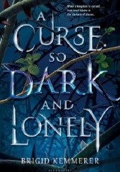 Okładka książki A Curse So Dark and Lonely Brigid Kemmerer
