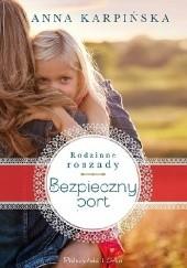 Okładka książki Bezpieczny port Anna Karpińska