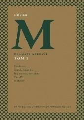 Okładka książki Dramaty wybrane t.1 Molier