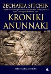 Okładka książki Kroniki Anunnaki Zecharia Sitchin