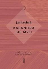 Okładka książki Kasandra się myli Jan Lechoń