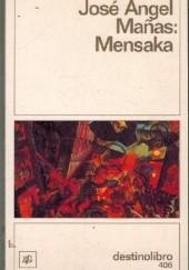 Okładka książki Mensaka José Ángel Mañas