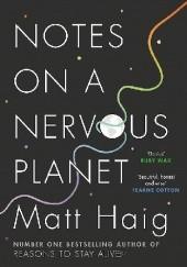 Okładka książki Notes on a Nervous Planet Matt Haig