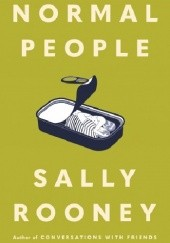 Okładka książki Normal People Sally Rooney