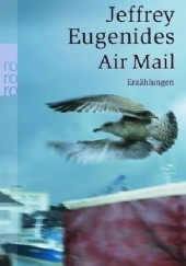 Okładka książki Air Mail Jeffrey Eugenides