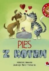 Okładka książki ACH, TE ZWIERZAKI! Pies z kotem Katarzyna Vanevska