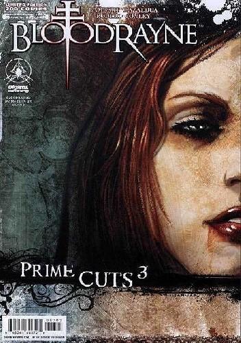Okładka książki BloodRayne: Prime Cuts #3 [Retailer Incentive Cover] Chad Lambert