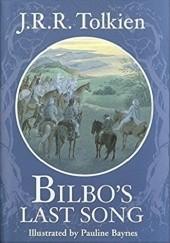 Okładka książki Bilbo's Last Song J.R.R. Tolkien