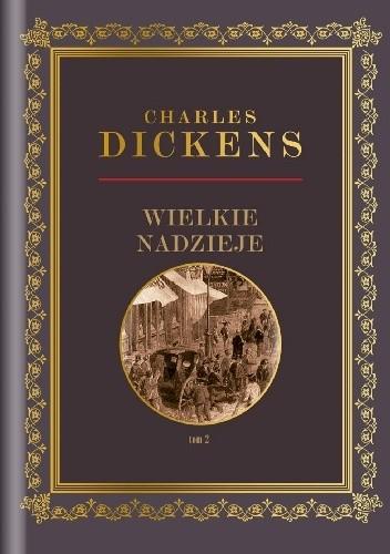 Okładka książki Wielkie nadzieje Tom 2 Charles Dickens