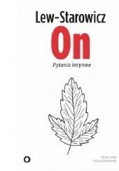 Okładka książki On. Pytania intymne Zbigniew Lew-Starowicz