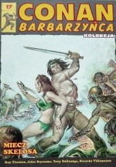 Okładka książki Conan Barbarzyńca. Tom 17 - Miecz Skelosa John Buscema,Tony DeZuniga,Ricardo Villamonte,Roy Thomas