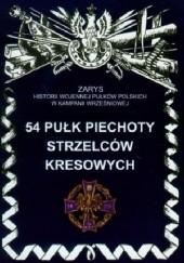 Okładka książki 54 Pułk Piechoty Strzelców Kresowych Dariusz Faszcza