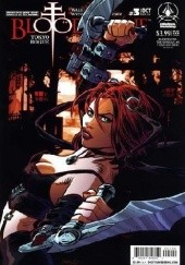 Okładka książki BloodRayne: Tokyo Rogue #3 [Cover B]