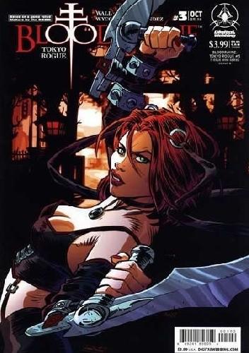 Okładka książki BloodRayne: Tokyo Rogue #3 [Cover B] Troy Wall