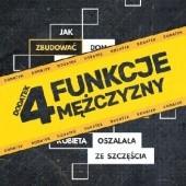 Okładka książki 4 funkcje mężczyzny Jacek Pulikowski