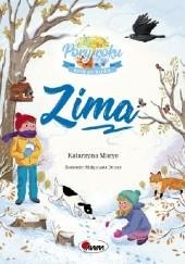 Okładka książki Zima Katarzyna Moryc