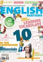Okładka książki English Matters 73/2018 Redakcja magazynu English Matters