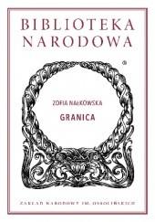 Okładka książki Granica Zofia Nałkowska