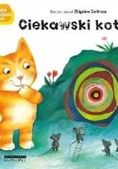 Okładka książki Ciekawski kotek Zbigniew Dmitroca