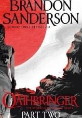 Okładka książki Oathbringer Part Two Brandon Sanderson
