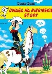 Okładka książki Uwaga na Niebieskie Stopy Morris