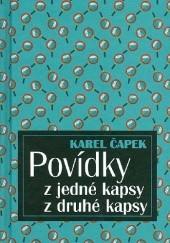 Okładka książki Povídky z jedné kapsy z druhé kapsy Karel Čapek