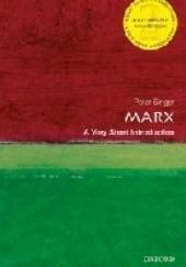 Okładka książki Marx: A Very Short Introduction Peter Singer