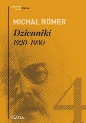 Okładka książki Dzienniki. 1920-1930. Tom 4 Michał Römer