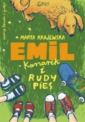 Okładka książki Emil, kanarek i rudy pies Marta Krajewska